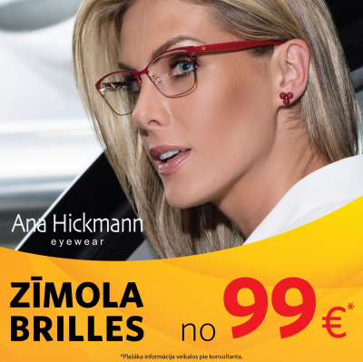 ZĪMOLA BRILLES no 99€