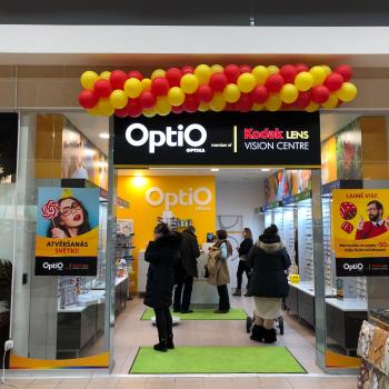 Jauns OptiO veikals Rīgā, t/k Spice