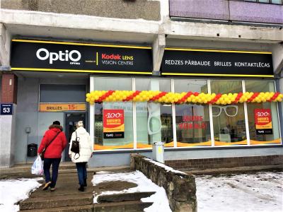Jauns OptiO veikals Purvciemā!