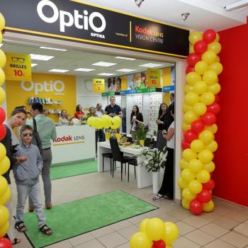 Jauns OptiO veikals Rīgā, t/c Dole
